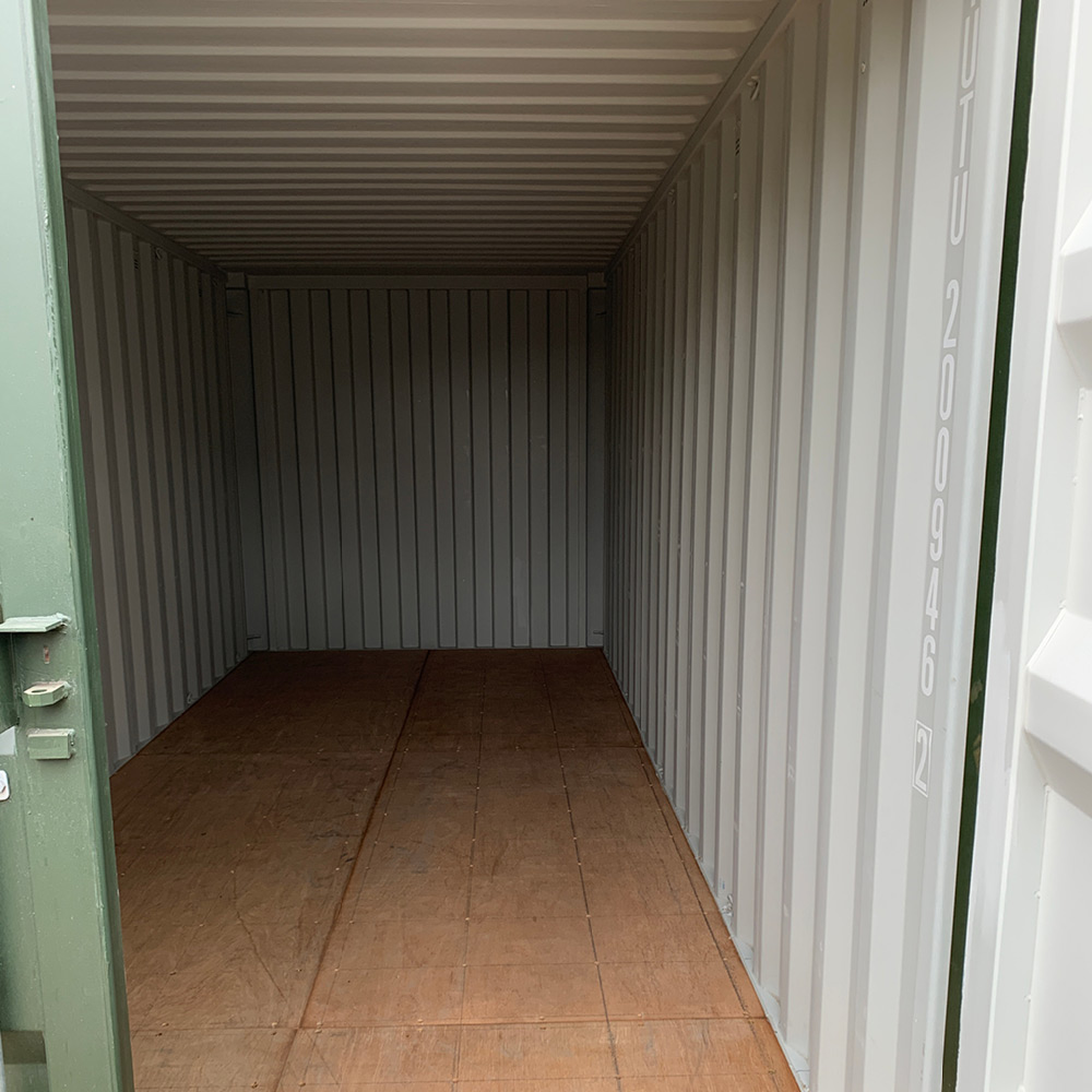 Shipping Container 20x8, James Stamp